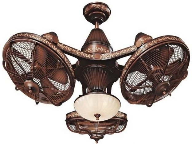 Extraordinary Flush Mount Tropical Ceiling Fans Hunter Tropical Intended For 2017 Tropical Outdoor Ceiling Fans With Lights (Gallery 9 of 15)