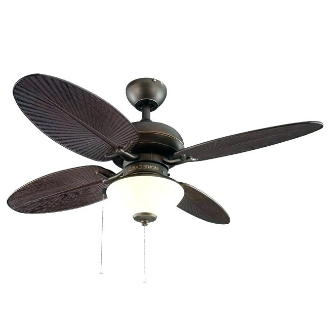 Famous 42 Inch Ceiling Fans Harbor Breeze 42 In Ocracoke Ceiling Fan With Throughout 42 Inch Outdoor Ceiling Fans With Lights (View 14 of 15)