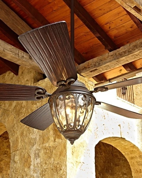 "Famous 70"" Olivier Outdoor Ceiling Fan Pertaining To High End Outdoor Ceiling Fans (View 5 of 15)"