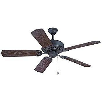 "Famous Craftmade Outdoor Ceiling Fans Craftmade Throughout Craftmade Opxl52Br, Outdoor Patio Fan Brown 52"" Outdoor Ceiling Fan (View 8 of 15)"