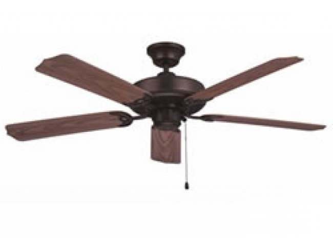 "Famous Ellington Outdoor Ceiling Fans With Regard To Ellington All Weather 52"" Outdoor Ceiling Fan – Aged Bronze (View 7 of 15)"