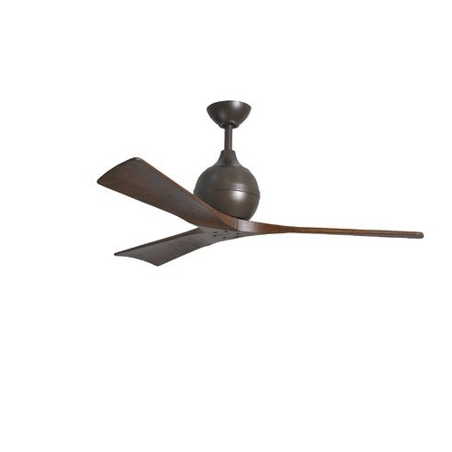 "Famous Found It At Wayfair – 52"" Irene 3 Blade Ceiling Fan With Wall Remote Intended For Wayfair Outdoor Ceiling Fans (View 12 of 15)"