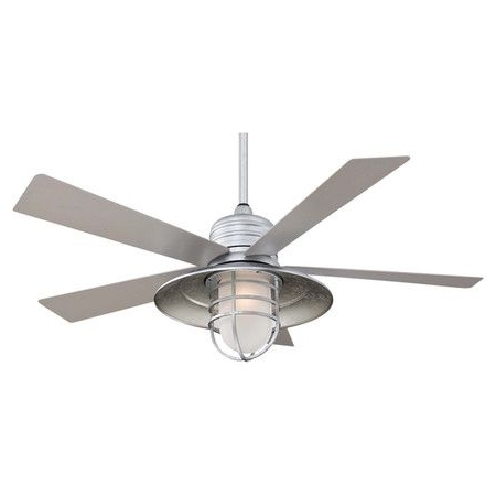 Famous Found It At Wayfair – Rain Man Ceiling Fan In Galvanized Steelhttp In Wayfair Outdoor Ceiling Fans (View 4 of 15)