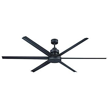 "Famous Kichler 310115Dbk 80"" Ceiling Fan – – Amazon With Black Outdoor Ceiling Fans (View 8 of 15)"