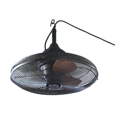 Famous Outdoor Ceiling Fans For Gazebos Inside Plug In Ceiling Fan Ceiling Fan With Plug In Cord Fans Design Into (View 9 of 15)
