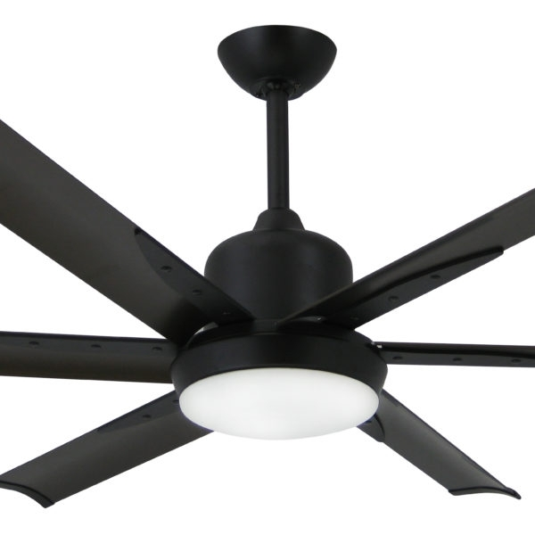 Famous Outdoor Ceiling Fans With Aluminum Blades Regarding Troposair Dc 6 Oil Rubbed Bronze Industrial Ceiling Fan With (View 10 of 15)