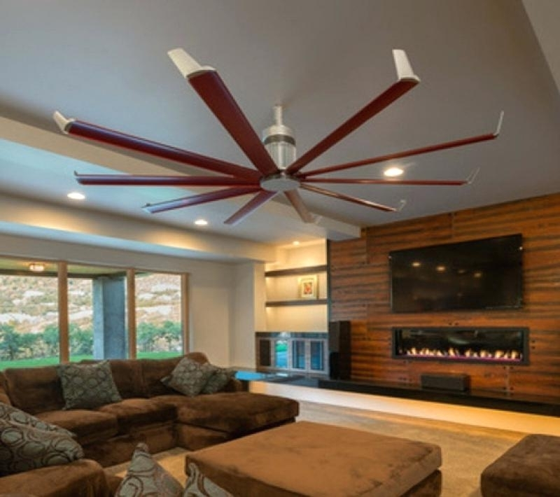 Famous Oversized Outdoor Ceiling Fans In Oversize Ceiling Fans – Dubemmichael (View 3 of 15)