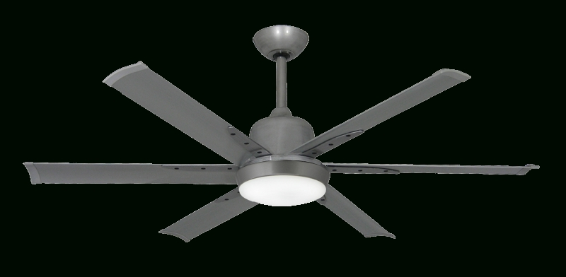 Fashionable Brushed Nickel Outdoor Ceiling Fans With Light Intended For Dc 6 52 In (View 8 of 15)