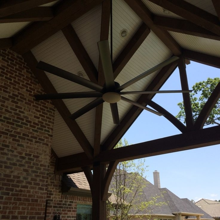 Fashionable Large Outdoor Ceiling Fans With Lights With Ceiling: Astonishing Large Outdoor Ceiling Fans 72 Inch Outdoor (View 2 of 15)