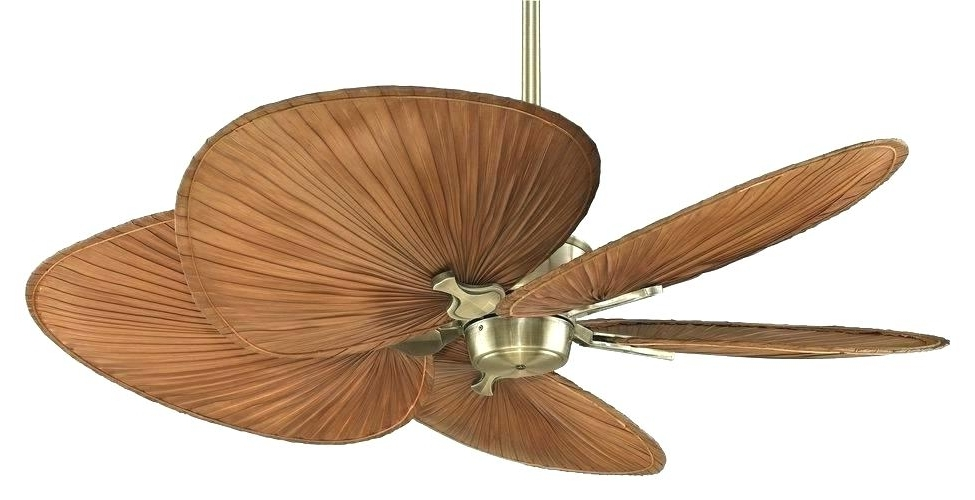 Fashionable Outdoor Ceiling Fan Blades Gallery Tropical Ceiling Fans Hi Outdoor With Regard To Outdoor Ceiling Fans With Leaf Blades (View 7 of 15)