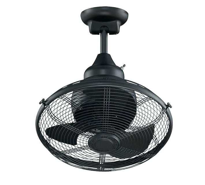 Fashionable Outdoor Ceiling Fans With Cage With Caged Outdoor Ceiling Fans Fan With Light – Hitmangear (View 9 of 15)