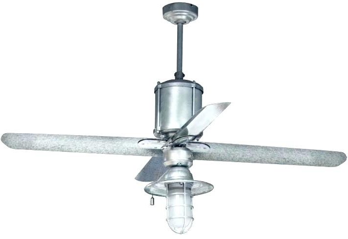 Favorite Galvanized Outdoor Ceiling Fans Regarding Galvanized Outdoor Ceiling Fan Commercial Fans Machine Age The (View 5 of 15)