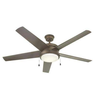 Favorite Outdoor Ceiling Fans With Led Globe Throughout Special Values – Ceiling Fans – Lighting – The Home Depot (View 12 of 15)