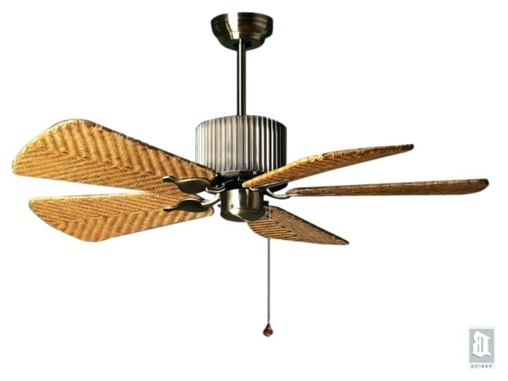 Favorite Rattan Ceiling Fans With Lights – Begonaparkgijon Pertaining To Wicker Outdoor Ceiling Fans With Lights (View 10 of 15)