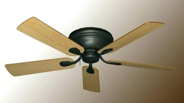 Featured Photo of Flush Mount Outdoor Ceiling Fans