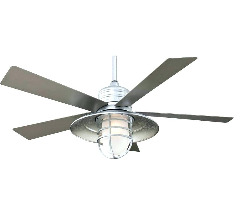 Galvanized Outdoor Ceiling Fans In Recent Outdoor Ceiling Fan Blades Best Indoor Outdoor Ceiling Fans Reviews (View 8 of 15)