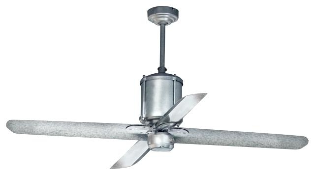Galvanized Outdoor Ceiling Fans With 2018 Galvanized Outdoor Ceiling Fan Picture 3 Of 9 Galvanized Outdoor (View 9 of 15)