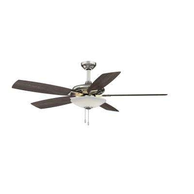 Hampton Bay Outdoor Ceiling Fans With Lights In Most Popular Hampton Bay – Ceiling Fans – Lighting – The Home Depot (Gallery 14 of 15)