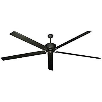 High Volume Outdoor Ceiling Fans With Regard To Fashionable Hercules 96 Inch Dc Ceiling Fan With Remote (Oil Rubbed Bronze (View 3 of 15)