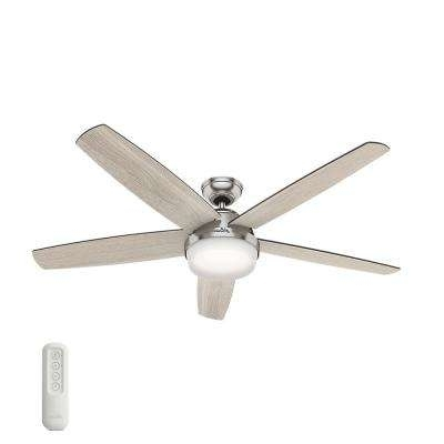 Hunter – Remote Control Included – Ceiling Fans – Lighting – The With Favorite Outdoor Ceiling Fans With Bright Lights (View 3 of 15)