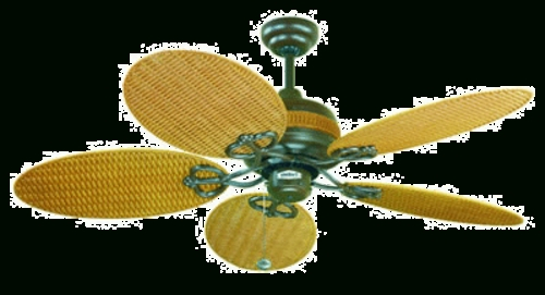 Id With Regard To Wicker Outdoor Ceiling Fans (View 2 of 15)