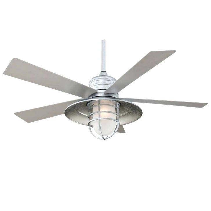 Indoor Outdoor Ceiling Fan With Light Outdoor Fan Light For Ceiling With Most Popular Brushed Nickel Outdoor Ceiling Fans With Light (Gallery 12 of 15)