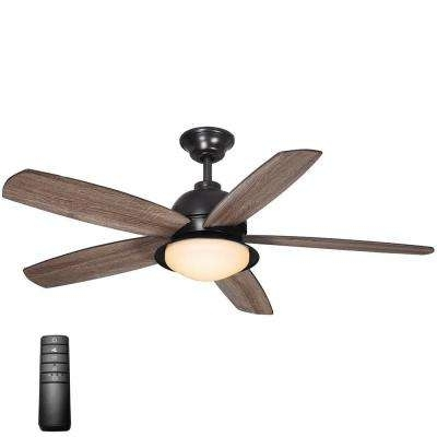 Indoor Outdoor Ceiling Fans With Lights And Remote Pertaining To Trendy Remote Control Included – Outdoor – Ceiling Fans – Lighting – The (Gallery 10 of 15)