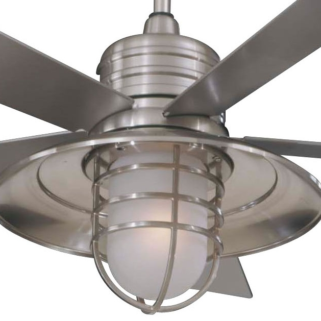 Industrial Outdoor Ceiling Fan With Light Amazing Lowes Ceiling Fans With Preferred Industrial Outdoor Ceiling Fans (View 15 of 15)