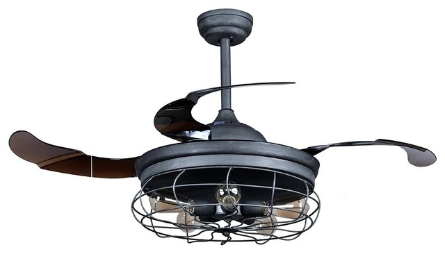 Industrial Outdoor Ceiling Fans With Light In 2018 Outdoor Ceiling Fans Shades Of Light In Industrial With Ideas 8 (Gallery 12 of 15)