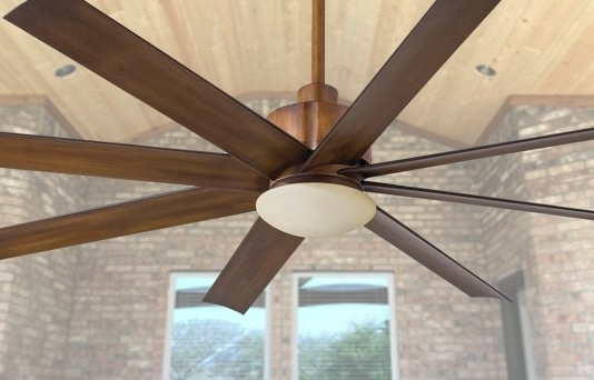Innovative Manificent Exterior Ceiling Fans Outdoor Ceiling Fans In Popular Outdoor Ceiling Fans With Lights Damp Rated (View 4 of 15)