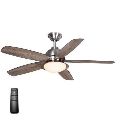 Integrated – Flush Mount – Outdoor – Ceiling Fans – Lighting – The For Most Recent Flush Mount Outdoor Ceiling Fans (View 5 of 15)