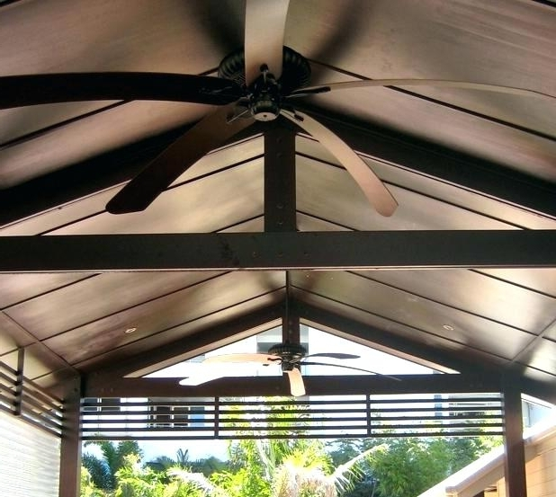 Large Outdoor Ceiling Fans With Lights With Newest Industrial Outdoor Ceiling Fans Large Outdoor Fan Large Outdoor (View 3 of 15)