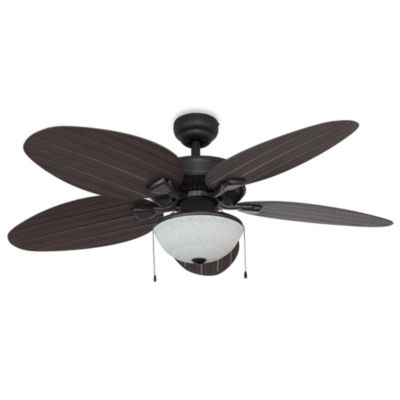 Latest Buy Bronze Outdoor Ceiling Fan From Bed Bath Beyond Fancy With Light Intended For Bronze Outdoor Ceiling Fans With Light (View 12 of 15)