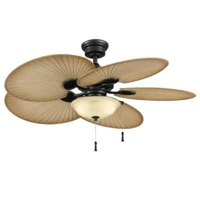 Latest Hampton Bay Outdoor Ceiling Fans With Lights With Hampton Bay Havana 48 In (View 10 of 15)