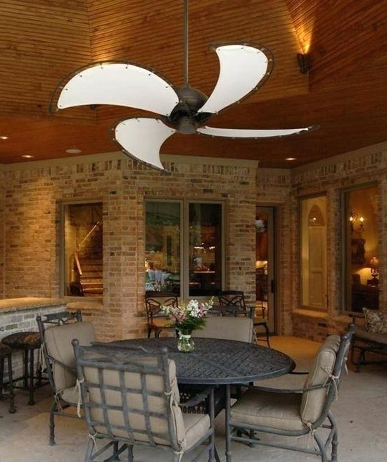 Latest Outdoor Ceiling Fans For Patios For Outdoor Ceiling Fans Wet Rated Patio Location – Lyonsden (View 6 of 15)