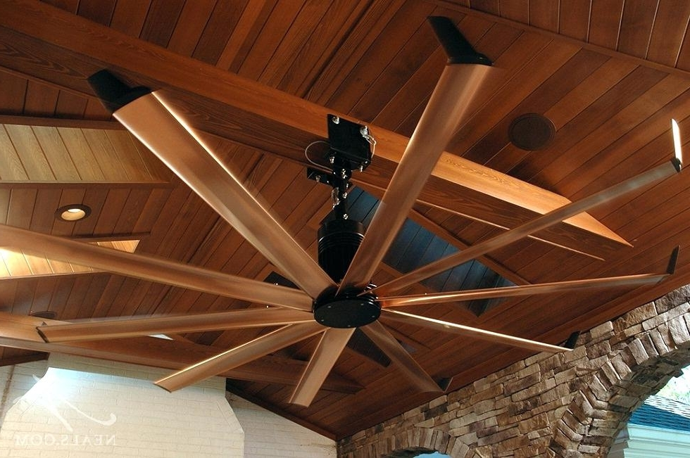 Latest Rustic Outdoor Ceiling Fans Pertaining To Rustic Outdoor Ceiling Fans Style Fan Light Kit Looking (View 13 of 15)
