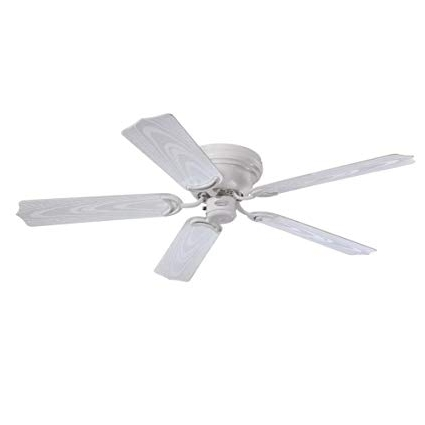 Latest Westinghouse 7217200 Contempra 48 Inch White Indoor/outdoor Ceiling Inside 48 Inch Outdoor Ceiling Fans (View 6 of 15)