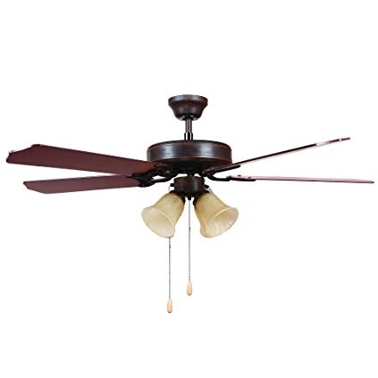 Latest Y Decor Big Joe Modern, Transitional, Traditional 52 Inch Outdoor Pertaining To Traditional Outdoor Ceiling Fans (View 4 of 15)