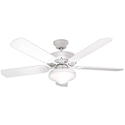 Litex E Wod52Ww5C All Weather Collection 52 Inch Indoor/outdoor Regarding Best And Newest White Outdoor Ceiling Fans (View 5 of 15)