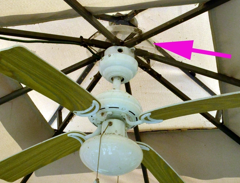 Mail Cabinet For Widely Used Outdoor Ceiling Fans For Gazebos (View 6 of 15)