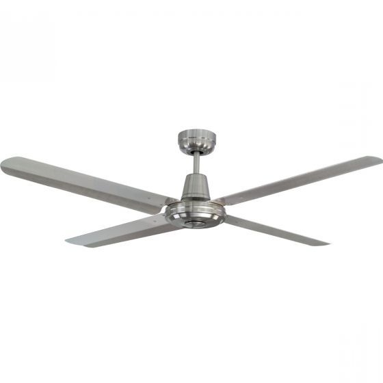 Mercator Swift 316 Marine Grade Stainless Steel Outdoor Ceiling Fan Inside 2017 Stainless Steel Outdoor Ceiling Fans (View 6 of 15)
