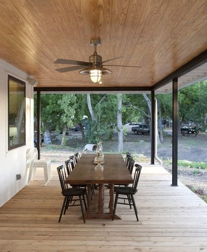 Modern Intended For Outdoor Ceiling Fans For Porch (View 15 of 15)