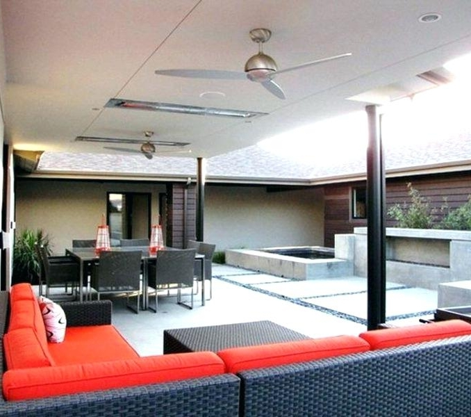 Modern Outdoor Ceiling Fans Regarding Latest Best Patio Ceiling Fans Best Porch Ceiling Fans Modern Outdoor Patio (View 7 of 15)
