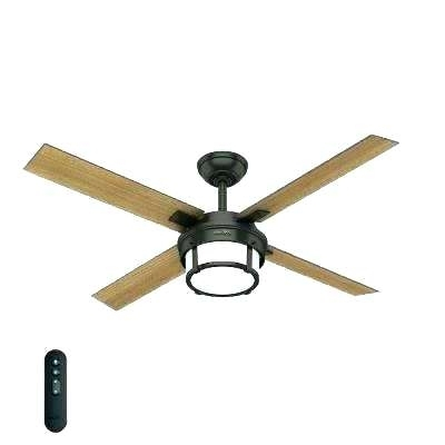 Modern Outdoor Ceiling Fans With 2018 Modern Outdoor Ceiling Fan Mid Century Led Indoor Premier Bronze (View 13 of 15)