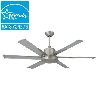 Modern Outdoor Ceiling Fans With Lights Regarding Popular Modern – Cfl – Outdoor – Ceiling Fans – Lighting – The Home Depot (View 5 of 15)