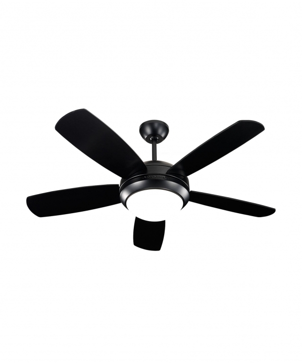 Monte Carlo 5di44 Discus Ii 44 Inch 5 Blade Ceiling Fan Capitol For Inside Most Recent 44 Inch Outdoor Ceiling Fans With Lights (View 5 of 15)
