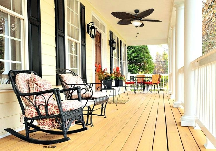 Most Current Outdoor Ceiling Fan Porch Fan Contemporary Ceiling Fan Porch Fans With Regard To Outdoor Ceiling Fans For Porches (View 4 of 15)