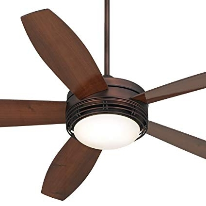 "Most Current Outdoor Ceiling Fans At Amazon In 60"" Casa Province Bronze Outdoor Ceiling Fan – – Amazon (View 5 of 15)"