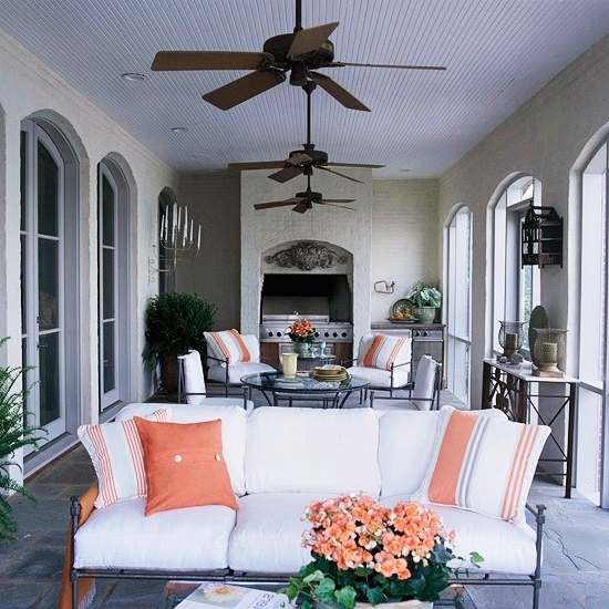 Most Current Outdoor Ceiling Fans For Porches Within Twirling Clare: Outdoor Ceiling Fans (View 5 of 15)