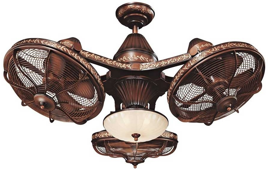Most Current Top 10 Unusual Ceiling Fans  (View 6 of 15)